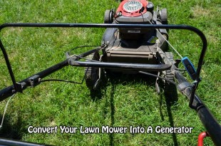 Convert Your Lawn Mower Into A Generator