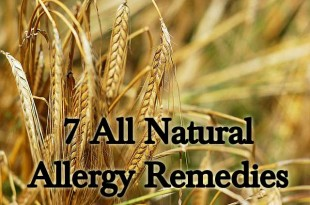 7 All Natural Allergy Remedies