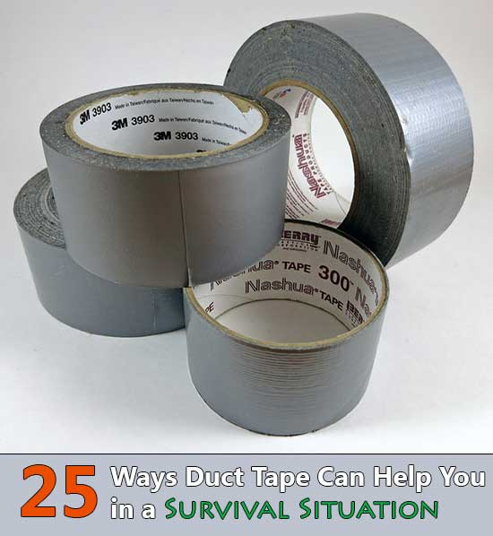 25 Ways Duct Tape Can Help You in a Survival Situation