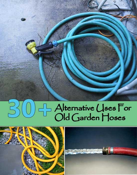 30+ Alternative Uses For Old Garden Hoses