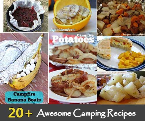 Two Easy Camping Recipes: 20+ Awesome Camping Recipes