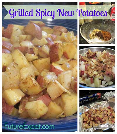 Grilled Spicy New Potatoes