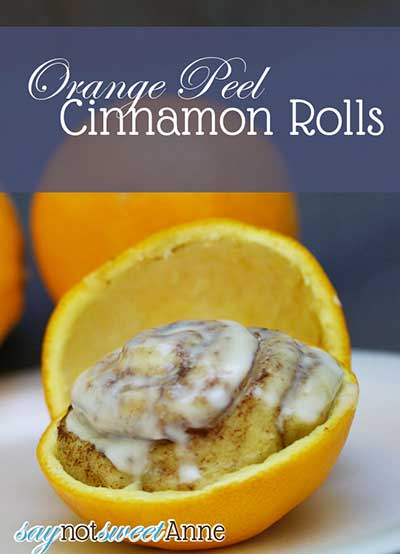 Orange Peel Cinnamon Rolls