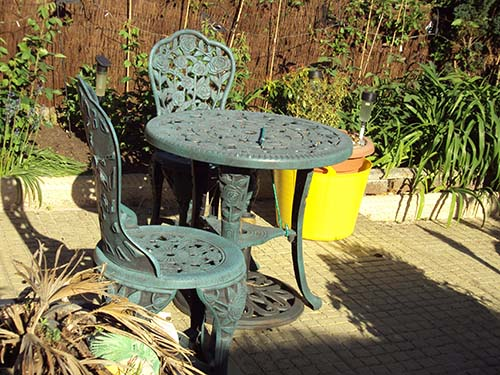 Patio Furniture Cleaner: