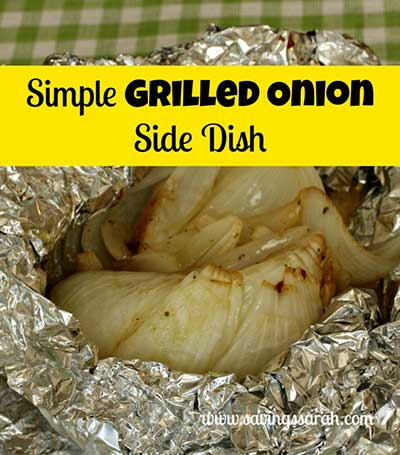 Simple Grilled Onions Side Dish