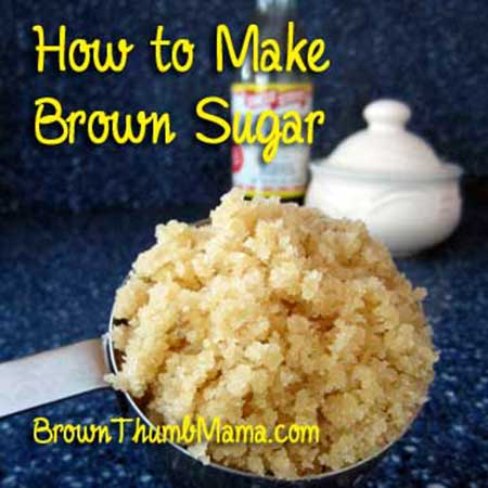 DIY Brown Sugar