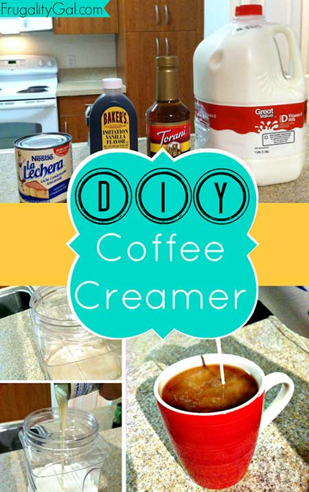 HOMEMADE CARAMEL COFFEE CREAMER