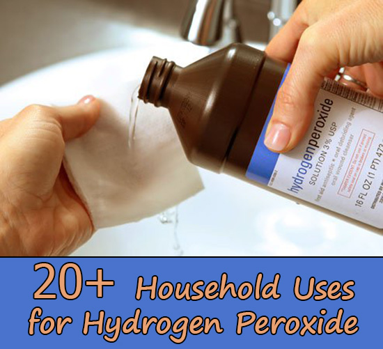 20+ Household Uses for Hydrogen Peroxide