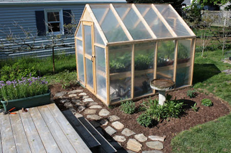 Simple Everyday Greenhouse: