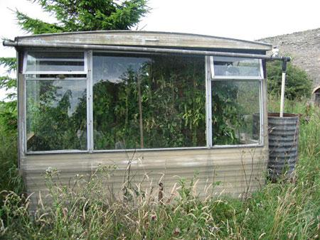 Underground Year Round Greenhouse