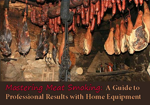 Mastering Meat Smoking: A Guide to Professional Results with Home Equipment