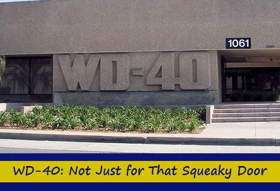 WD-40: Not Just for That Squeaky Door