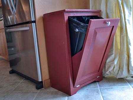 10 Ways To Hide Your Trash Cans Home And Gardening Ideas
