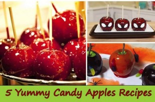 5 Yummy Candy Apples Recipes