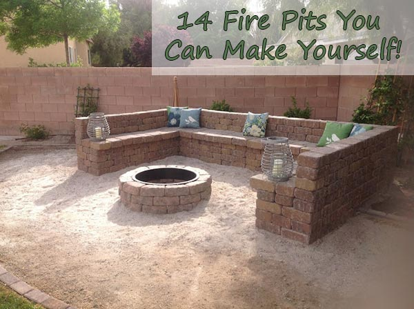 14 Fire Pits You Can Make Yourself Home And Gardening Ideas