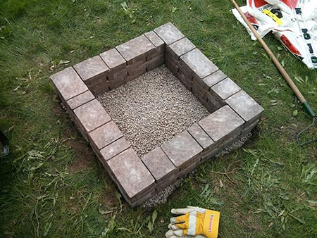 Mothers Day DIY Fire Pit