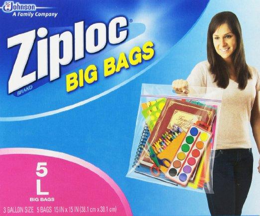 Ziploc Big Bag Double Zipper,