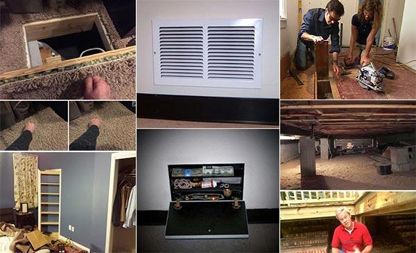 15 Secret Hiding Spots In Your Home