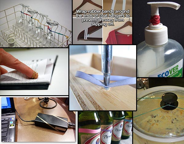 16 Rubber Band Uses To Help With Everyday Life Home And