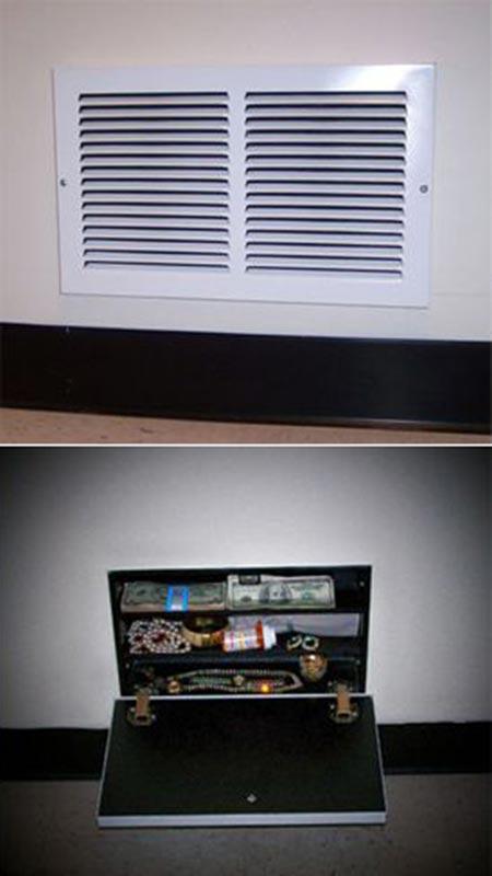 ceiling compartment ideas - 15 Secret Hiding Spots In Your Home Home and Gardening Ideas