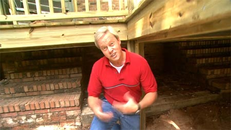 How To Build A Storage Area Under A Deck