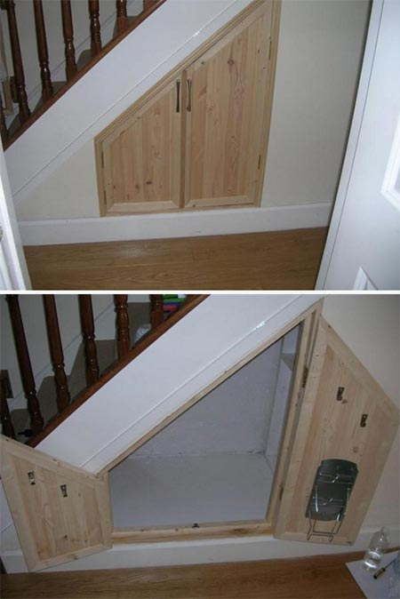 Under Stairs Storage Space