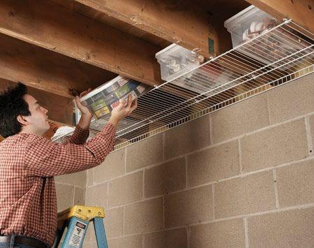 Ceiling Joist Storage