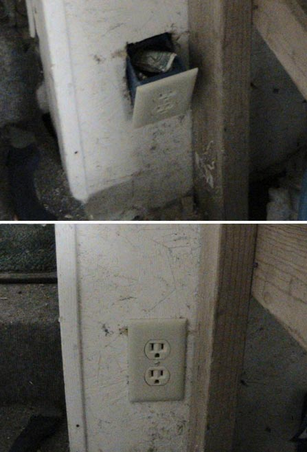 how to make a secret outlet compartment