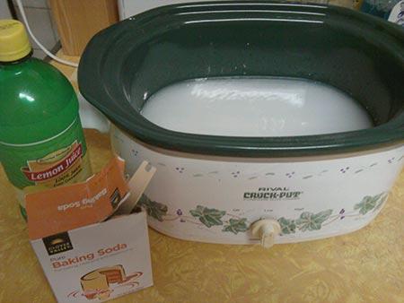 Crock Pot Lemon And Vanilla Air Freshener