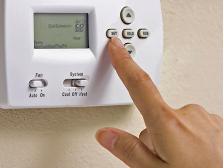Thermostat timers: