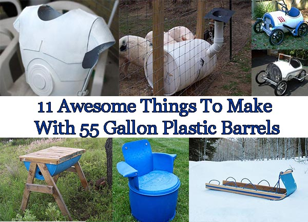 How To Make A  Gallon Drum Dog House