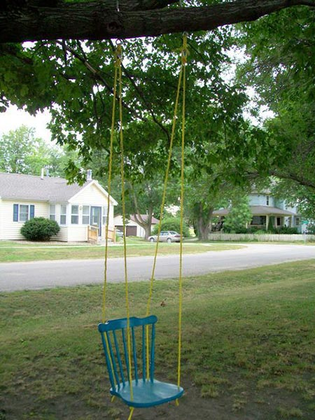 Chair Rope Swing