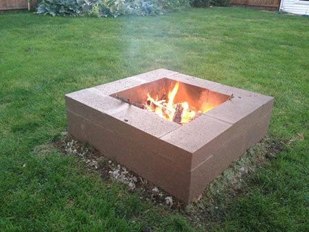 20 creative ways to use cinder blocks in your home and - What is cinder block made of ...