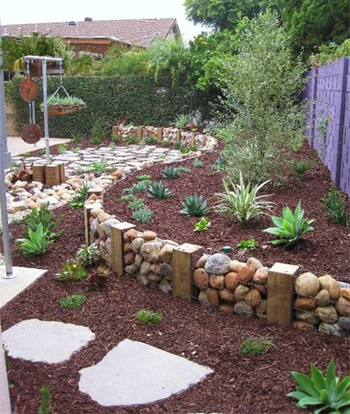 Gabion Mini Wall Edging