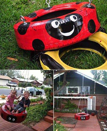 Ladybird-Tyre-Swing