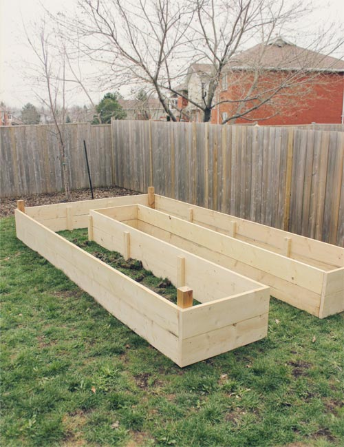 U-Shaped Raised Garden Bed