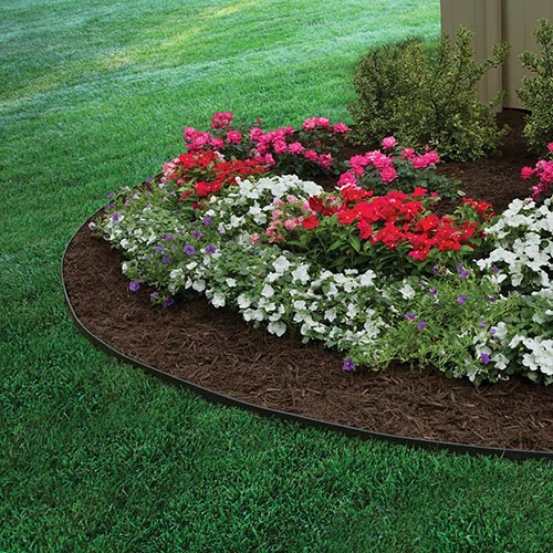 25 Garden Bed Edging Ideas Home and Gardening Ideas