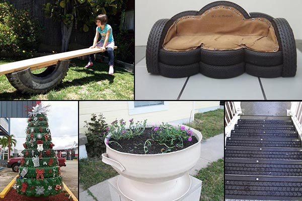 20 brilliant ways to reuse and recycle old tires - Garden Ideas Using Old Tires