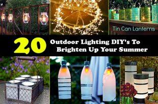 20 Outdoor Lighting DIY's To Brighten Up Your Summer