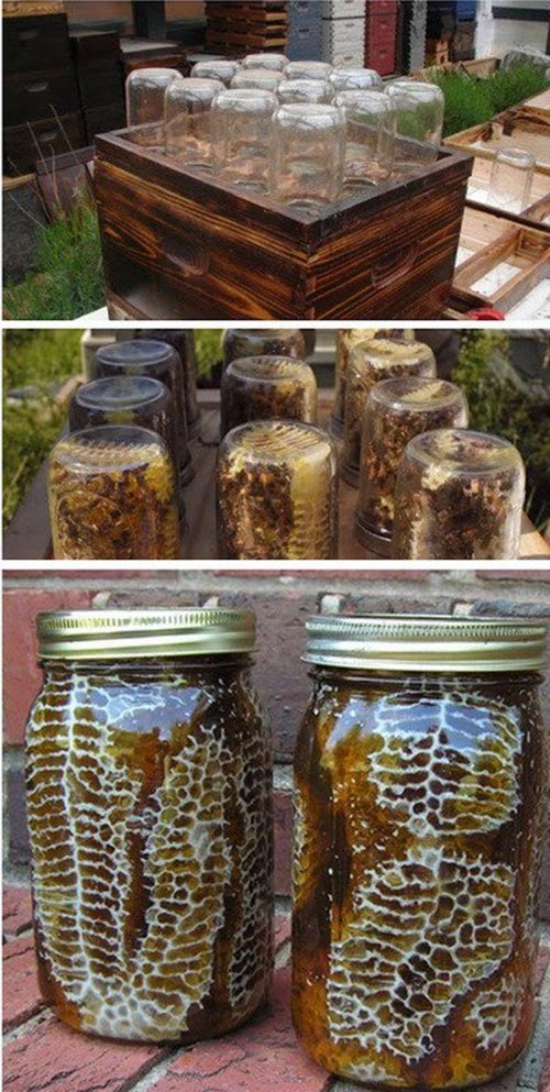 Beehive In A Jar DIY Project