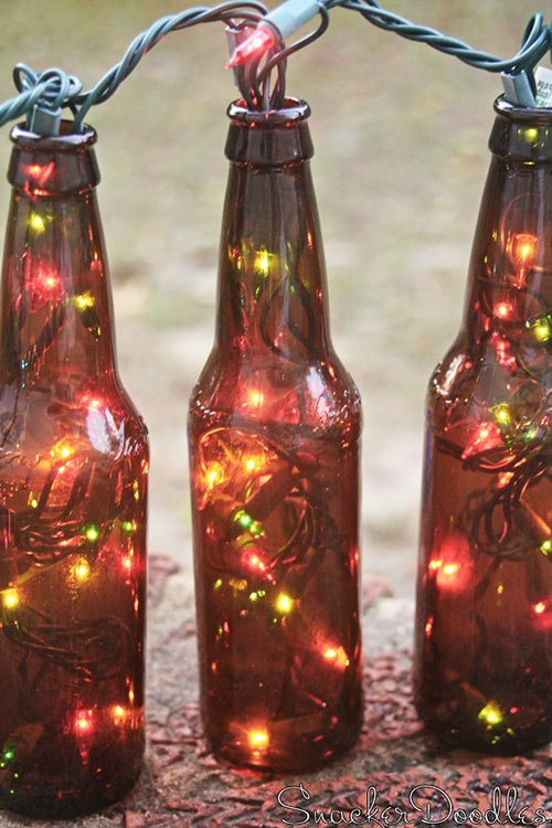 Beer Bottle Lights
