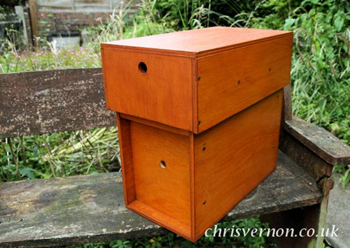 Building a Nucleus Bee Hive