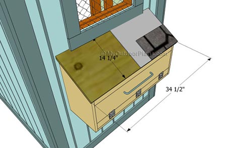 Building Chicken Nesting Boxes Plans