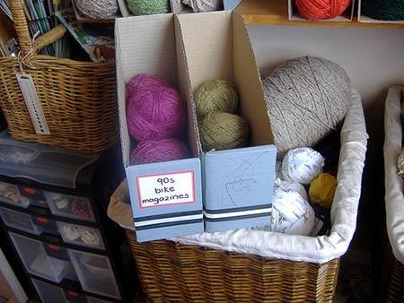 Craft supply organizer