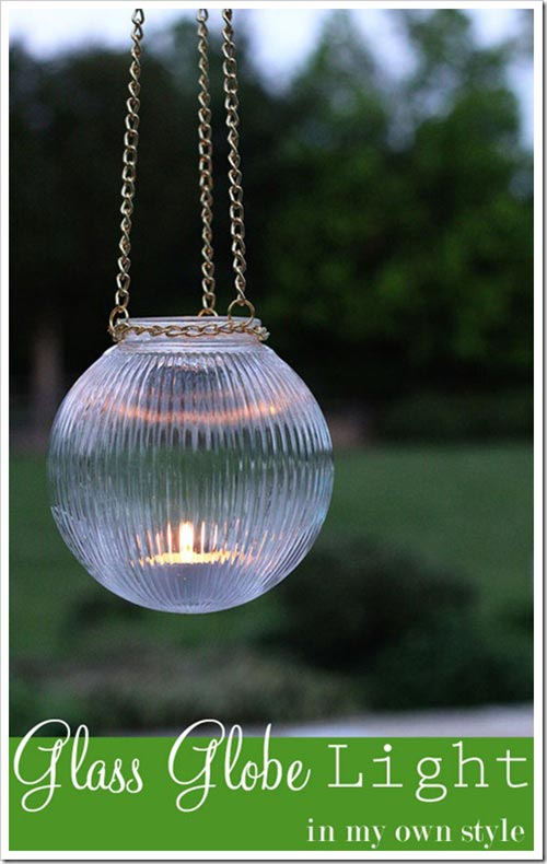 Outdoor Glass Hanging Lights