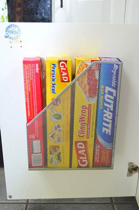 Utilize the Back of the Pantry Door