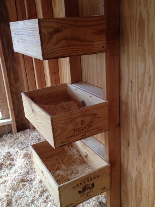 Wine Box Nesting Boxes