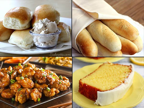 Delicious Copycat Recipes From you Favorite Restaurants!