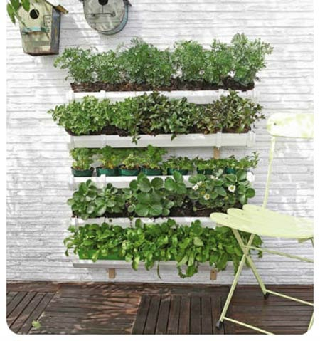 How to Make a Rain Gutter Garden
