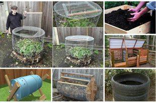 18 Ingenious DIY Compost Bin Ideas